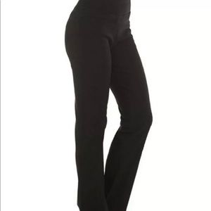 Red Hanger Stretchy Dress Pants Black XXL Flat New